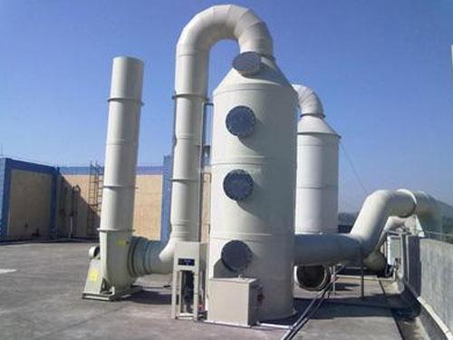 酸雾净化塔对不同气体的处理方法