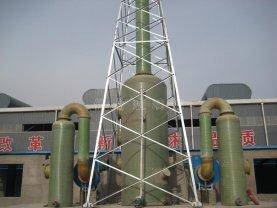 酸雾吸收塔的废气净化吸收优势